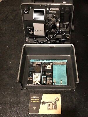 Bell & Howell Filmosound Model 535 16mm Sound Movie Projector