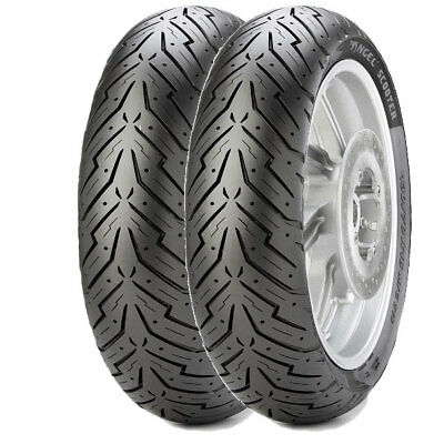 Tyre Set Pirelli 100/90-14 57P + 150/70-14 66P Angel Scooter