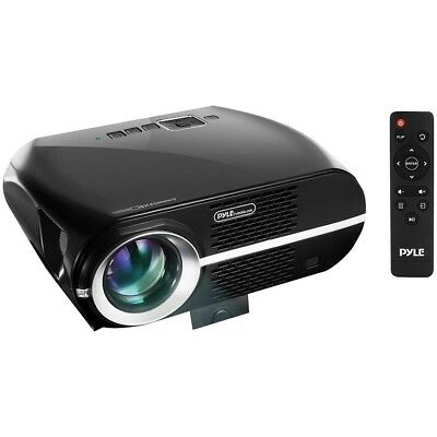 Pyle 1080p Full Hd Home Theater Digital Projector PYLPRJLE67