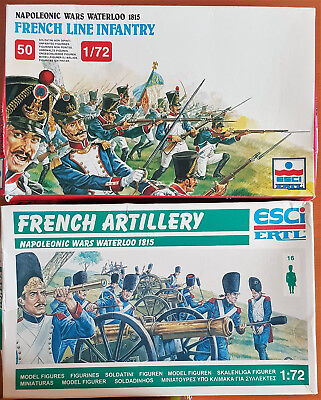ESCI French Line Infantery / French Artillery / Kanonen / Waterloo 1815 - 1:72