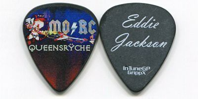 QUEENSRYCHE 2018 Monsters Of Rock Tour Guitar Pick!!! EDDIE JACKSON custom stage