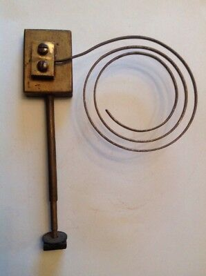 Clock Chime Gong Brass 155X125mm  Antique Mantle Clock Spare Part