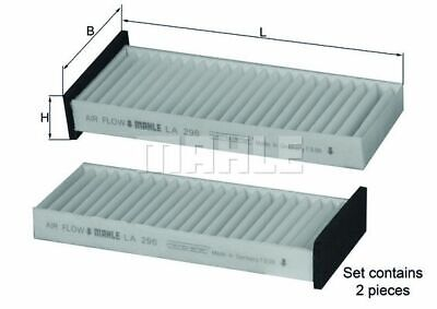 Knecht Innenraumfilter Filter Pollenfilter Mitsubishi La296/s