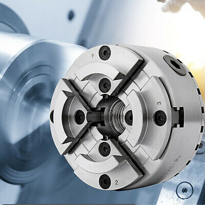 4 Four 125mm Jaw Self Centering Lathe Chuck M33 Mount Wood Machine Function