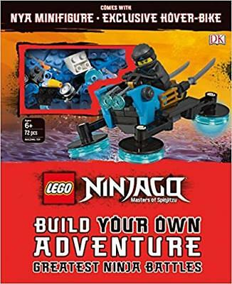 LEGO NINJAGO Build Your Own Adventure Greatest Ninja Battles by DK (2018, Mixed