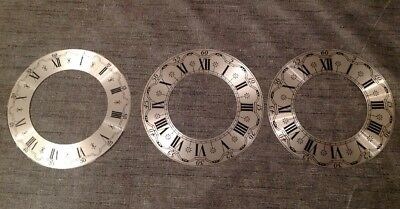 Vienna Style Clock DIALs Faces Similar New Old Stock Clock Parts 130mm & 126mm