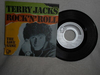 """7"""" Terry Jacks -- Rock ´n´ Roll / The Love Game"""