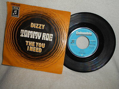 """7"""" Tommy Roe -- Dizzy / The You I Need"""