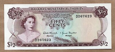 Bahamas - Monetary Authority - 1/2 Dollar - L.1968 - P26 - Uncirculated