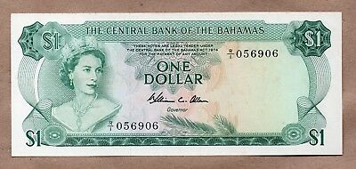 BAHAMAS - CENTRAL BANK - 1 DOLLAR - L.1974 - P35b - UNCIRCULATED