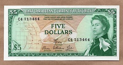 EAST CARIBBEAN STATES - 5 DOLLARS - ND1965 - P14e - UNCIRCULATED