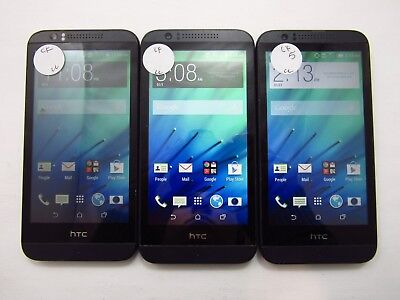 Lot of 3 HTC Deisre 510 OPCV220 Cricket Check IMEI Fair Condition 5-1749