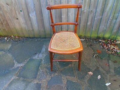 antique victorian/edwardian bedroom/hall chair for restoration, project