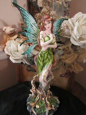 Fairyland Legends  Forest Earth Fairy Figurine by Pacific Giftware NEW