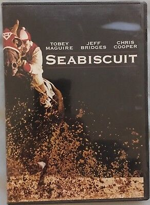 Seabiscuit - full screen DVD- Toby Maguire- pre owned VG