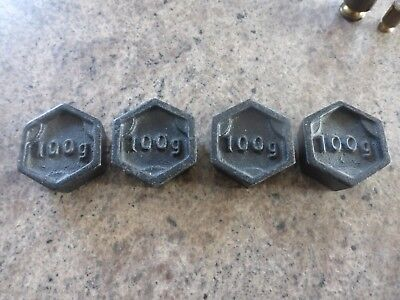 Vintage Cast Iron Weights - Royal Mail