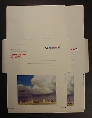 """Canada Postal Stationery #a57-A62 Mint Air Letter Sheets """"the Skies"""" Issue"""