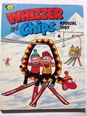 THE WHIZZER & CHIPS. 1989 Annual Good Condition **Free UK Postage**