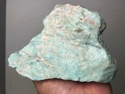 New!!! Rare Stock Top Quality Turquoise Green Amazonite Rough 6 Lbs - Brazil