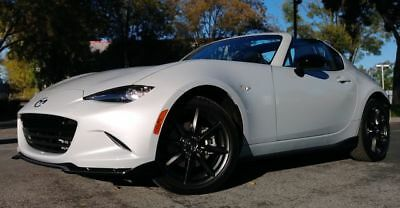 2017 MX-5 Miata Club Convertible 2D pearl Mazda MX-5 Miata RF with 943 Miles available now!