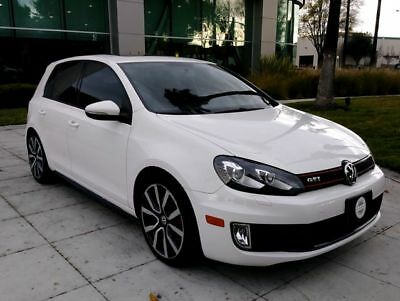 2013 Golf Autobahn Hatchback Sedan 4D White Volkswagen GTI with 70,499 Miles available now!