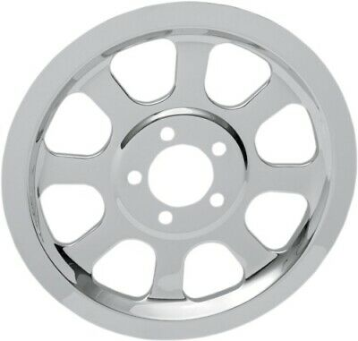 Drag Specialties Chrome Outer Rear Pulley Insert 1201-0518 302218 1201-0518