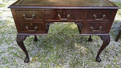 Antique Late 18th Early 19th C. Chippendale Desk