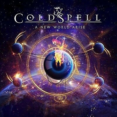 Coldspell - A New World Arise   Cd New!