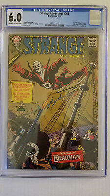 Strange Adventures #205 CGC 6.0 Fine   Origin & 1st Appearance Deadman