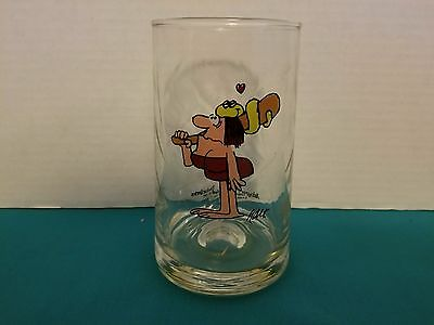 1981 B.C. Ice Age Collector's Series Arby's Vintage Promotional Glass