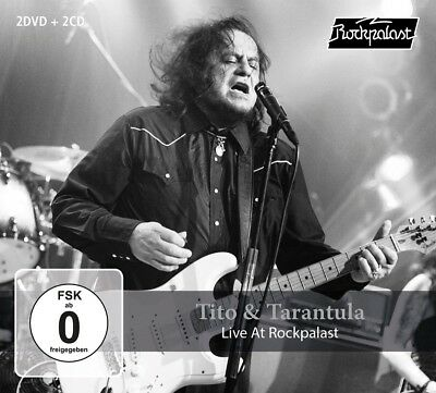 Tito & Tarantula - Live At Rockpalast 2008 & 1998 +2Dvd 3 Cd+Dvd New!