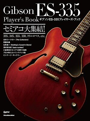 Gibson ES-335 Player's Book Semi-acoustic Guitar Collection JP Guitar Magazine