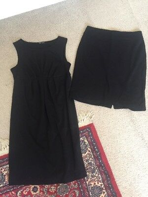 Bulk Maternity Clothes Black Dress And skirt To Suit Size 10-12