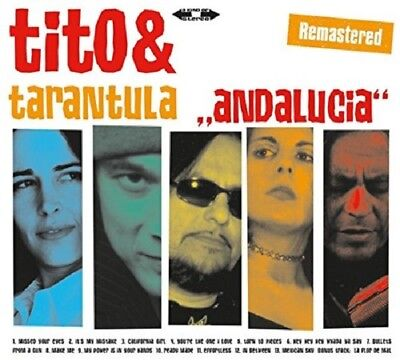 Tito & Tarantula - Andalucia (Remastered)   Cd New!