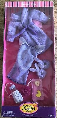 Only Hearts Club Pajama Bathrobe Bunny Slippers Doll Outfit NEW in the Box MIB