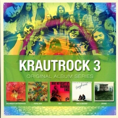 Various/Krautrock - Original Album Series Vol.3  5 Cd New!
