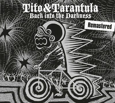 Tito & Tarantula - Back Into The Darkness (Remastered)   Cd New!