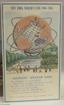 Vintage Lot of Post Cards, New York World's Fair