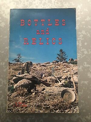Bottles and Relics Book by Davis 1970 Bitters Medicines Fruit Minerals Guns etc