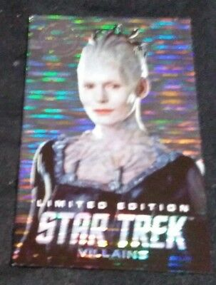 Dave and Buster's Star Trek Limited Edition Foil Arcade Card - Borg Queen
