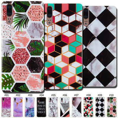 Rubber Gel Fashion Soft Silicone Cute Cover Case Shell TPU Skin Back For Huawei