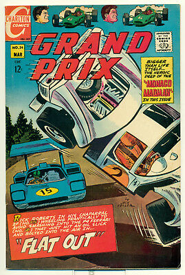 Grand Prix Comics Vol. 1 No. 24 March 1969