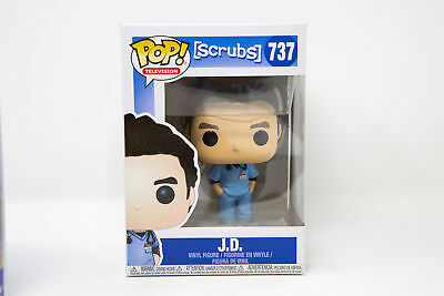 Funko Pop Television Scrubs J.D. JD #737 35598 | IN STOCK | FAST SHIPPING!