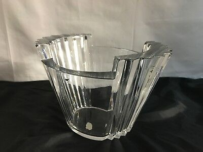Vintage Orrefors Sweden Crystal Bowl ~Salad~Serving~Kitchen~Signed and Numbered~