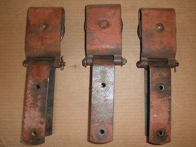 3 Vintage Barn Door Trolley Rollers