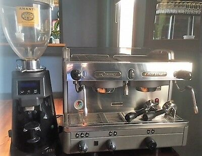 LaCimbali Group 2 Coffee Machine and Grinder