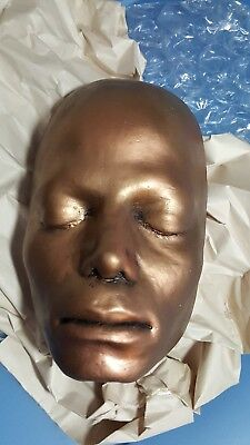 POP STAR Michael Jackson Life Mask Face Cast Head
