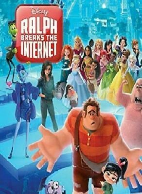 """ralph Breaks The Internet (2018) Pre Sale Free Shipping 2/26 Factory Sealed"