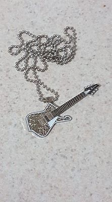 Paul Stanley Cracked Mirror style Ibanez Pendant Necklace  (LIMITED EDITION)