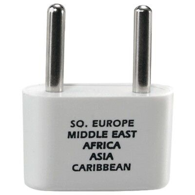 Conair(R) NW1C Adapter Plug for Europe, Middle East, Parts of Africa & Caribbean